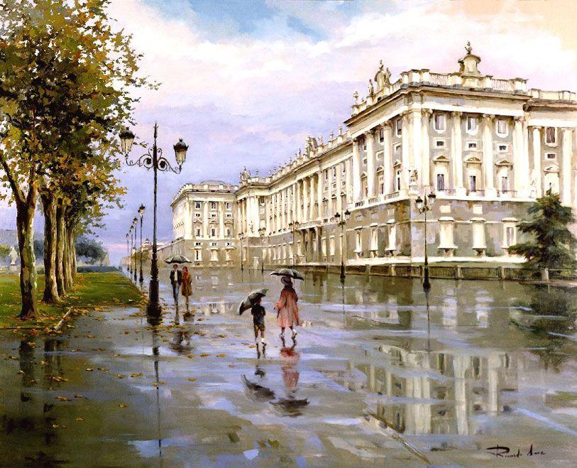 Ricardo-Sanz-Dia-de-lluvia-en-Palacio-81X100-cms