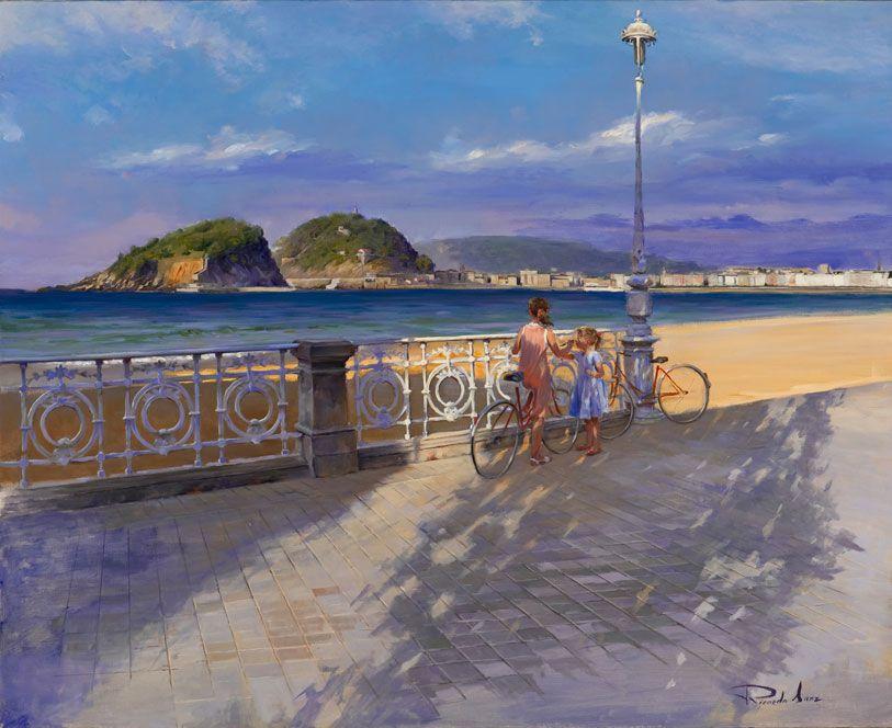Ricardo-Sanz-Paseo-de-Ondarreta-100X81-cms