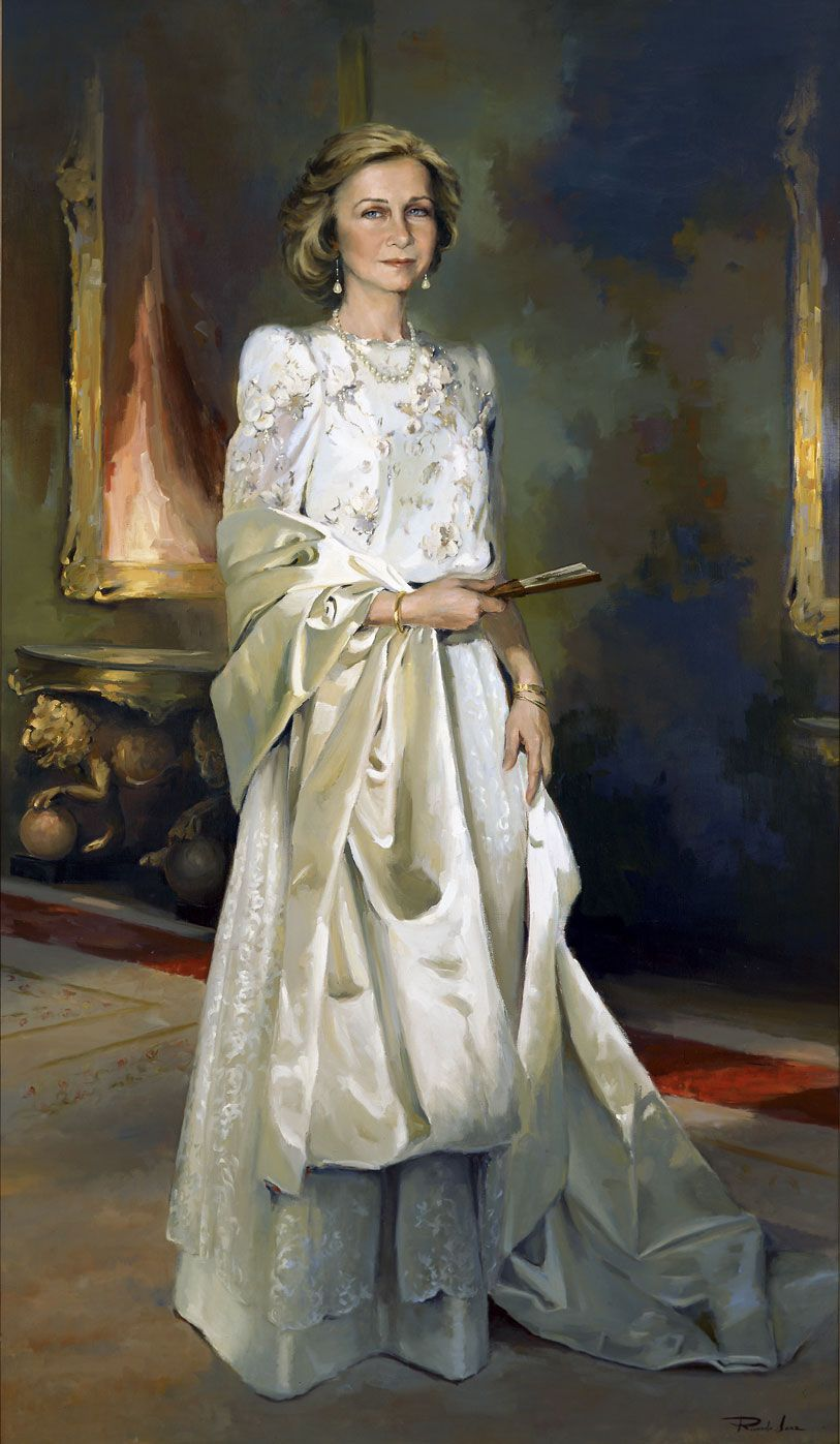 Portrait of H.M. Queen doña Sofía